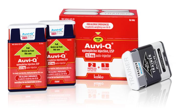 Auvi-Q Epipen Alternative