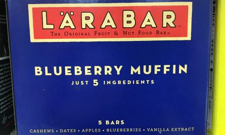 Yes Larabar's Blueberry Muffin Bar Contains Cashews