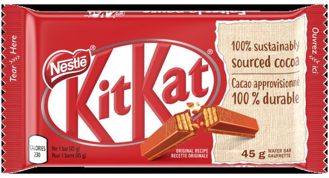 Kit Kat Nestle Canada Peanut Free