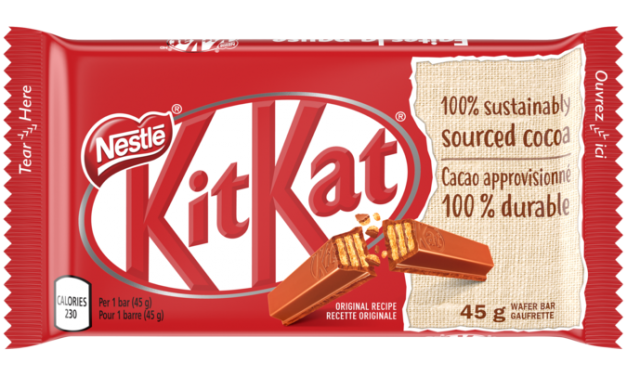 Kit Kats from Nestle in Canada are Completely Nut Free